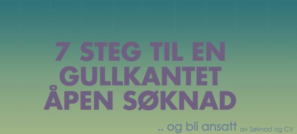 Åpen Søknad